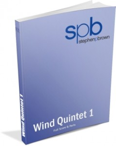 Wind Quintet 1 by Conductor Composer Stephen P Brown