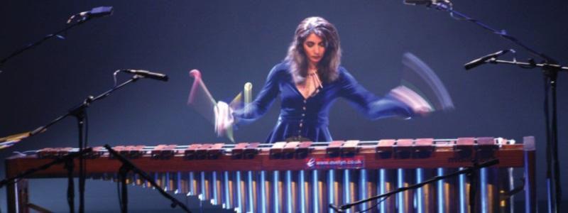Evelyn Glennie marimba