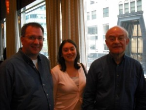 British American Conductor Composer sang at Carnegie Hall for John Rutter
