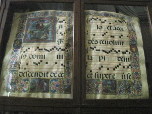16th Century Gregorian Chant Song Book