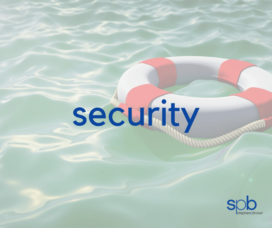 SECURITY - A Characteristic of Attractivness