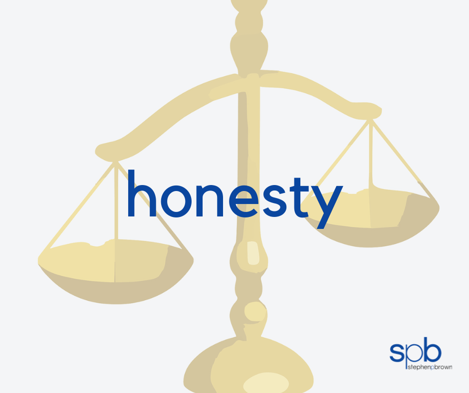 Honesty - A Characteristic of Attractivness