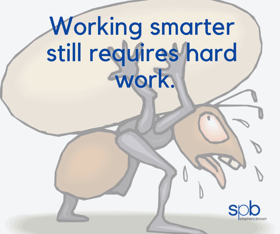 Working Smarter: A Characteristic of Attractiveness