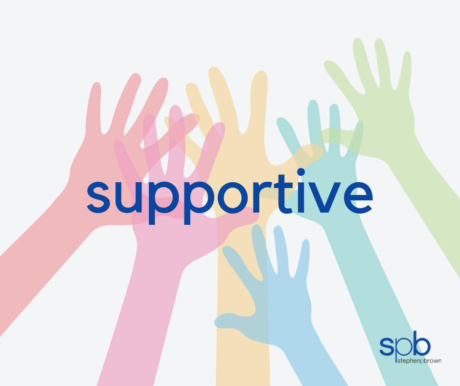 Supportive - A Characteristic of Attractiveness