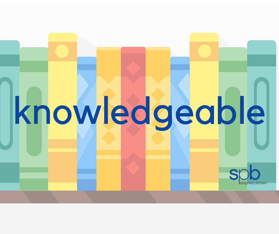 Knowledgeable - A Characteristic of Attractiveness