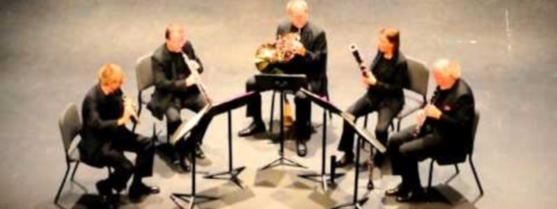 British American Conductor Composer Maestro Stephen P Brown Psalm Piece 4 Wind Quintet Classical Music